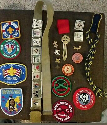 BSA Nassau County Council 1917-1967  Jubilee Camporee Boy Scouts America Patch