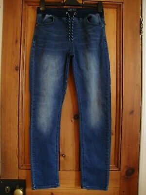 Next.  Boys Jeans Stretchy Waist Jogger Style.  Size 16 Years