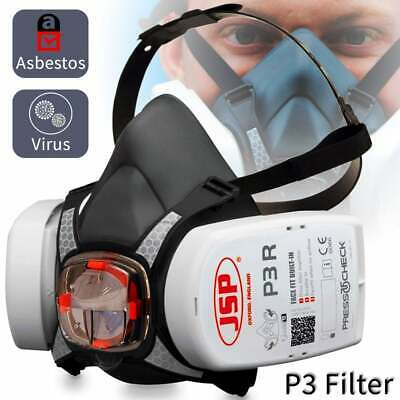Anti Virus FFP3 P3 Rated Quality Face Mask Safety Breathing Respirator Flu Dust