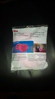 3M 2091 P100 Particulate Filter (one pair of 2 filters)