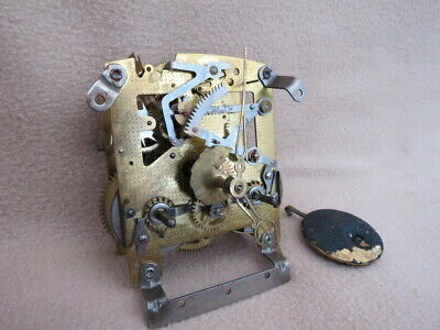 Vintage Smiths 8 Day Striking Clock Movement For Tlc