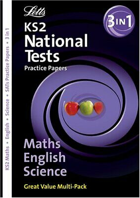 KS2 English,Maths and Science (SATs/National Tests Practice Paper Folders)-Educ