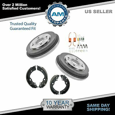 Rear Brake Drum Shoes /& Hardware Kit Set for 90-02 Honda Accord New