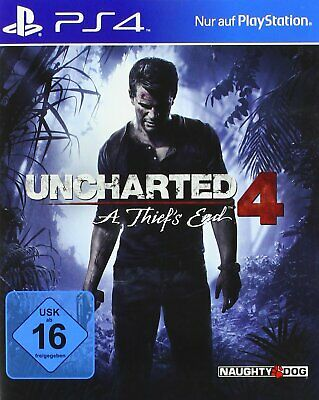 Sony Playstation 4 PS4 Spiel Uncharted 4 IV A Thief's End