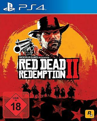 Sony Playstation 4 PS4 Spiel Red Dead Redemption 2 II