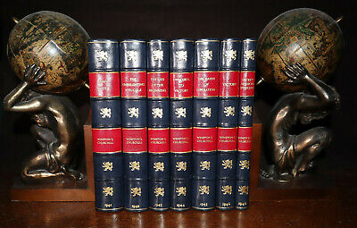 1941 Winston S Churchill The War Speeches 7 Volumes First Editions World War WW2