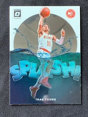 2019-20 Panini Donruss Optic Basketball Splash! #2 Trae Young Atlanta Hawks