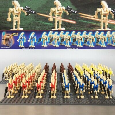 Star Wars Mini figure Minifig Army Custom figs compatible with lego Battle Droid