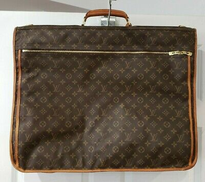 Authentic Louis Vuitton Monogram Garment Travel Luggage Bag Pre-owned No Reserve