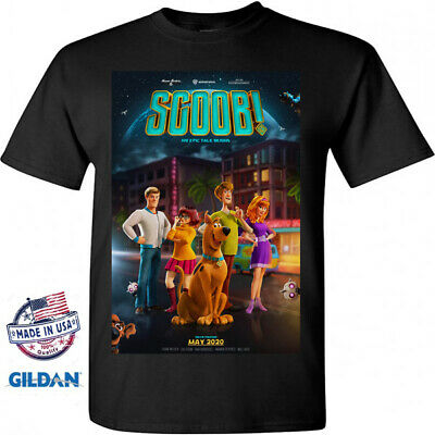 Scoob - New Scooby doo Poster Cartoon Movie 2020 Black T-Shirt Size S M L XL 2XL