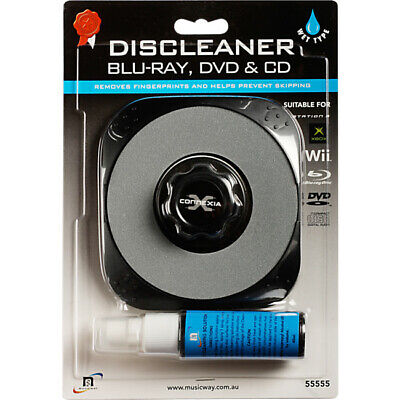 Wet Disc Cleaner For Blu-Ray / DVD / CD CONNEXIA  55555