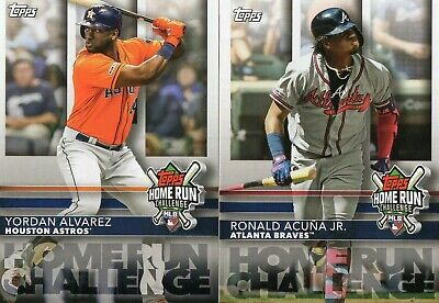 """2020 Topps 1 HOME RUN CHALLENGE PROMO INSERT """"UNSCRATCHED"""" **YOU PICK**"""