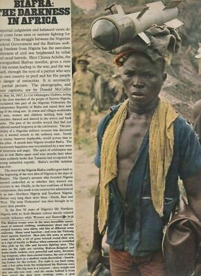 Don McCullin - Biafra - The Darkness In Africa - Magazine REF1344