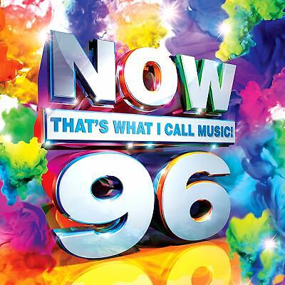 NOW THAT'S WHAT I CALL MUSIC! 96 (2017) 43-track 2-CD NEW/SEALED Ed Sheeran