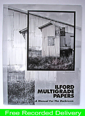 Darkroom Manual For Ilford Multigrade Papers   (Current)
