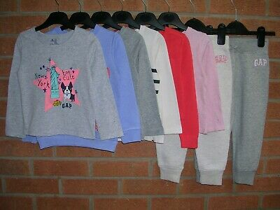 Mainly GAP Girls Bundle Long Sleeve Tops Jersey Joggers Age 2-3 98cm