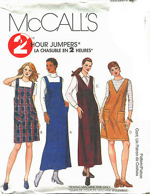 Easy OOP McCALLS 8537 MS Fit /& Flare Jumpers PATTERN 8-10-12-14-16-18-20-22 UC