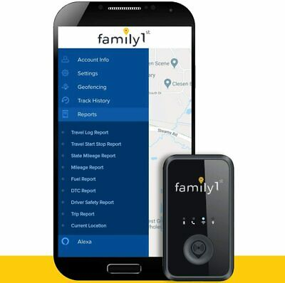 Family1st 4G LTE GPS Tracker- Compact, Portable, Real-Time Tracking Device