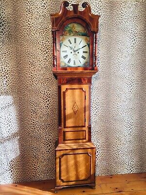Grandfather clock by G Wiston of Stafford C1790