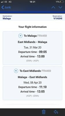 Flights To Malaga