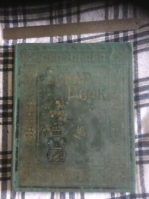 Victorian Scrap Album / Scrapbook CHILDREN,CHRISTMAS,SANTA , ANIMAL SCRAPS
