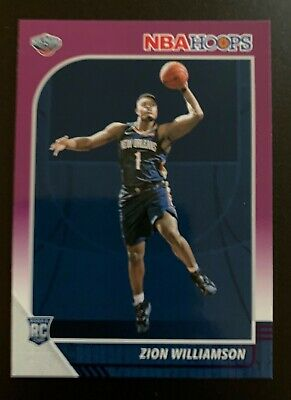2019-2020 Hoops Zion Williamson PURPLE Parallel RC #258 !!!