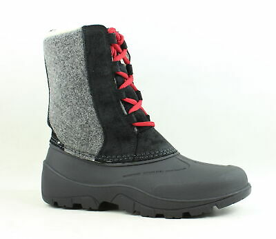 Woolrich Womens Tundracat Black Snow Boots Size 9.5 (551093)