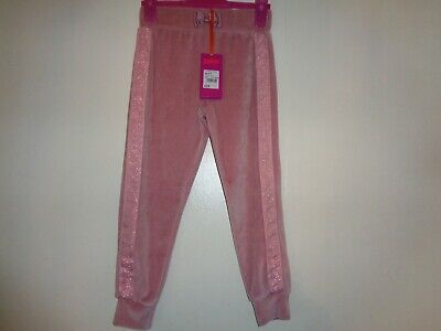 Ted Baker Girls Velour Joggers Age 4-5 Years BNWT