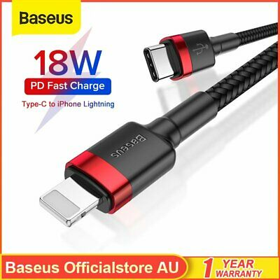 Baseus USB Type C to Lightning Charging Cable 18W Quick Charge for iPhone11 XS X