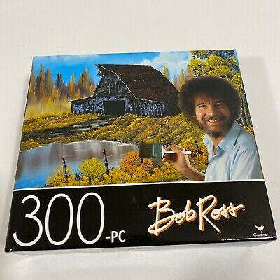 CARDINAL 300 pieces Jigsaw Puzzle New RUSTIC BARN BY BOB ROSS