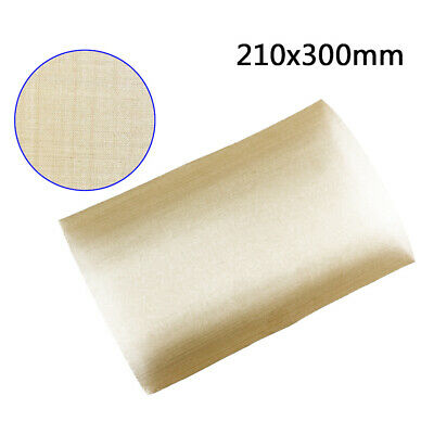 Heavy Duty Brass Mesh Woven Wire Filters Oil 100-Hole A4 Sheet Replace 210x300mm
