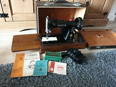 1956 Singer 99K Electric Sewing Machine, Just Had £49 Service , Great Condition