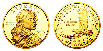 "Discounted! 2008 S Sacagawea Dollar /""Imperfect/"" PROOF US Mint Coin"