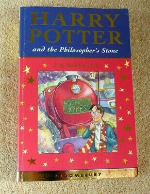 Harry Potter & The Philosophers Stone P/B 1st Edition /1st Print 2001