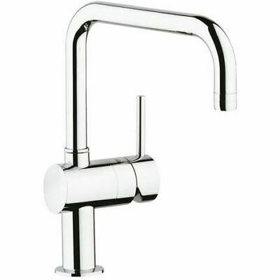 Grohe Minta Single Lever Kitchen Sink Mixer Tap Swivel Spout Pull Out Spray 189 00 Picclick Uk