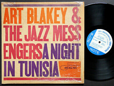 ART BLAKEY A Night In Tunisia LP BLUE NOTE BLP 4049 NY RVG MONO Lee Morgan CLEAN