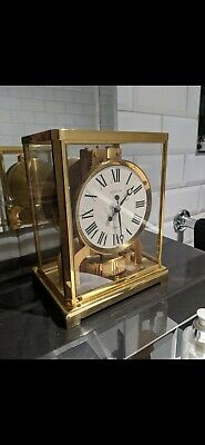 Jaeger le coultre Atmos round face clock
