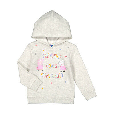 Pepper Peppa Pig Girls Licensed Hoodie top various sizes free postage Brand New!