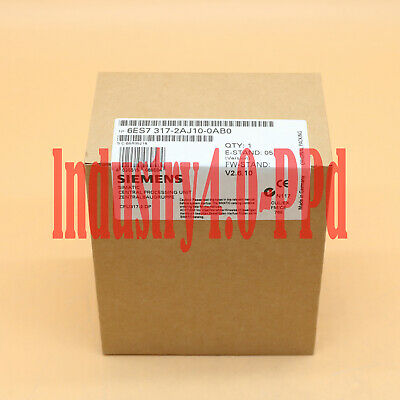 New In Box Siemens 6ES7317-2AJ10-0AB0 6ES7 317-2AJ10-0AB0 One year warranty #XR