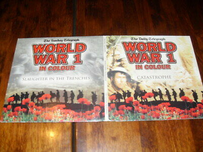 WW1 CATASTROPHE & SLAUGHTER IN THE TRENCHES - 2 x PROMO WW1 WAR DVD's