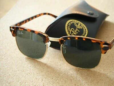 RAY BAN Clubmaster turtle RB3016 50 19 136. État : Neuf