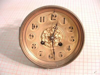 Antique French 8 day Clock Brocot movement Stikes Half & Hour