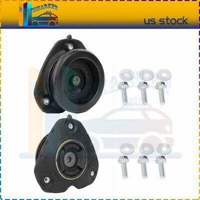 Front Upper Strut Mount /& Bearing Assembly Pair Set for I30 Q45 Altima Maxima