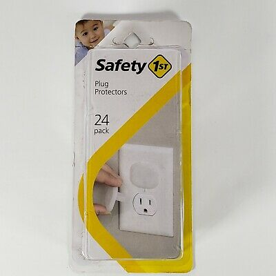 Power Plug Safety Protector Cover Baby Kid Infant 24 Pack NEW