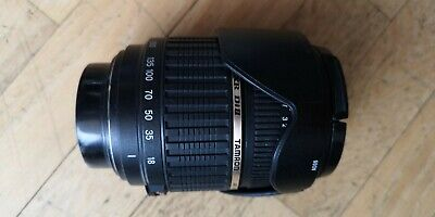 Objectif TAMRON  AF 18-200mm f/3,5-6,3 (IF)  Macro 62mm A14 - Monture Pentax
