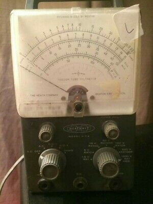 Heathkit Model V-7A Vacuum Tube Voltmeter