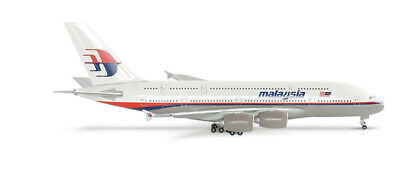 Malaysia Airlines A380, Herpa 1:400! 561266, rare!