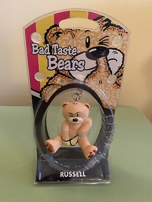"2000 Bad Taste Bears Russell 2.5/"" Key Chain Keychain"