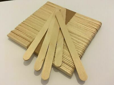 50 - 5,000 pack PLAIN natural wood wooden lolly sticks, for craft, ice lollipops