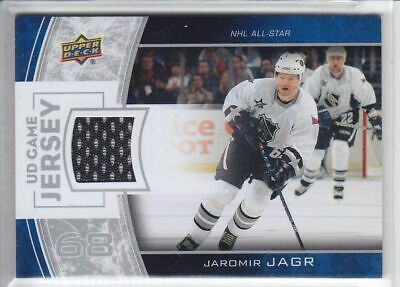 2013-14 UD SERIES JAROMIR JAGR GAME JERSEY 2C GJ-JJ GAME USED Upper Deck Capital